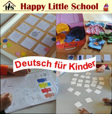 Deutschkurs für Kinder ab 3 Jahren