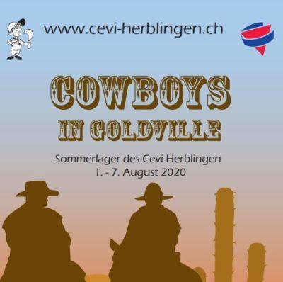 Cowboys in Goldville- Sommerlager Cevi Herblinen
