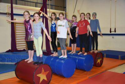 Kindergeburtstagsfest in der Zirkusschule et voilà