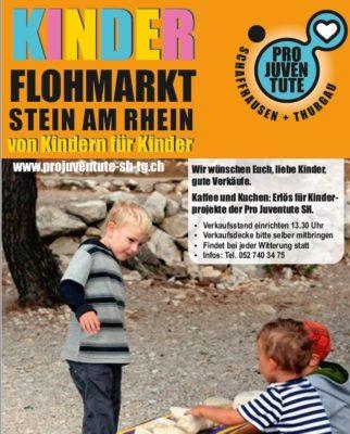 Kinderflohmarkt in Stein am Rhein