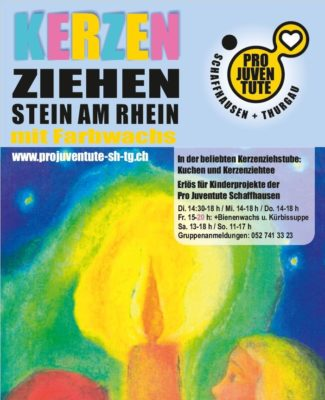 Kerzenziehen in Stein am Rhein
