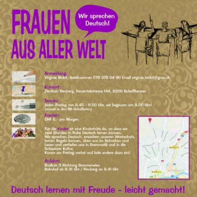 Deutsch-Treff für Mütter