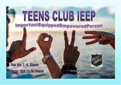 Teens Club  IEEP (ImportantEquippedEmpoweredPerson)