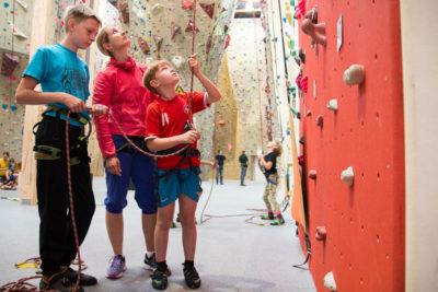 Ferien Kletterkurs für Kinder