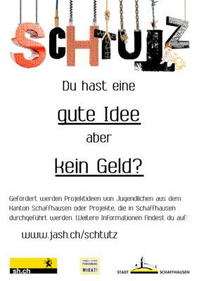 ScHtutz - Jugendprojektförderfonds