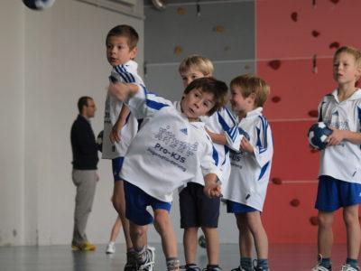 Mini-Handball für Mädchen und Knaben